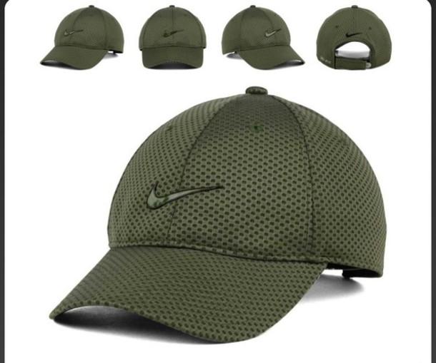 ... wholesale hat nike green olive green mesh wheretoget 96694 57b08 e4b490c6563
