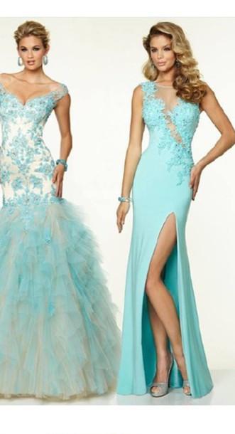 dress blue dress prom prom dress prom gown