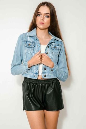jacket dolly girl fashion denim jacket denim hipster cool music festival city vintage