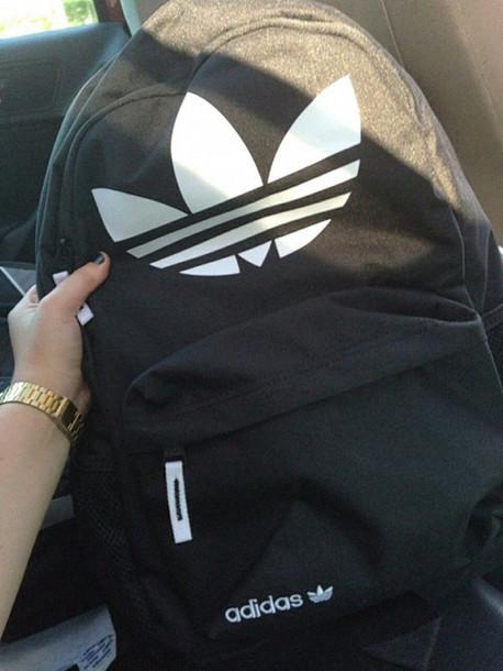 301527873b2c bag adidas backpack swag bomb grunge pale alternative adidas bag adidas  black and white blaxk adidas