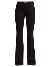jeans,flare jeans,flare,high,black