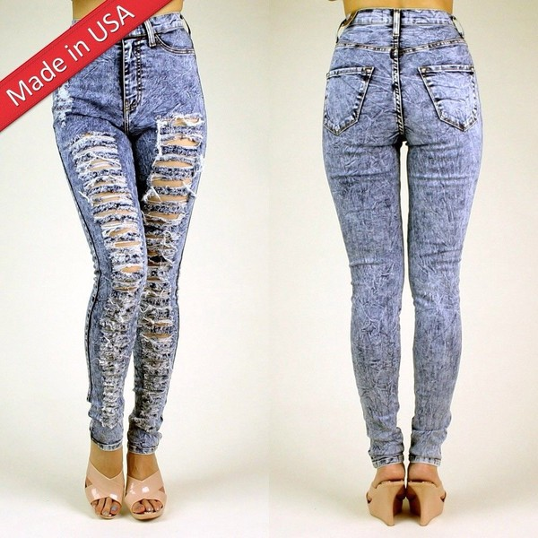 jeans ripped _ highwaisted jeans