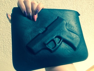 bag choco fashion gun