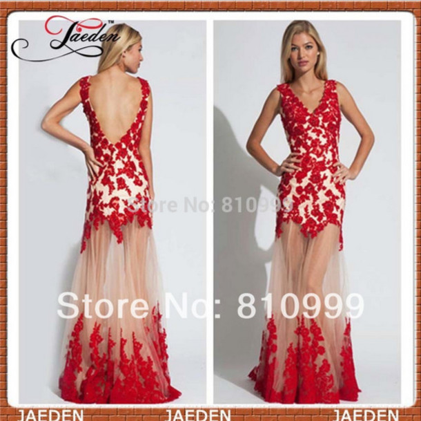 Red Formal Gowns