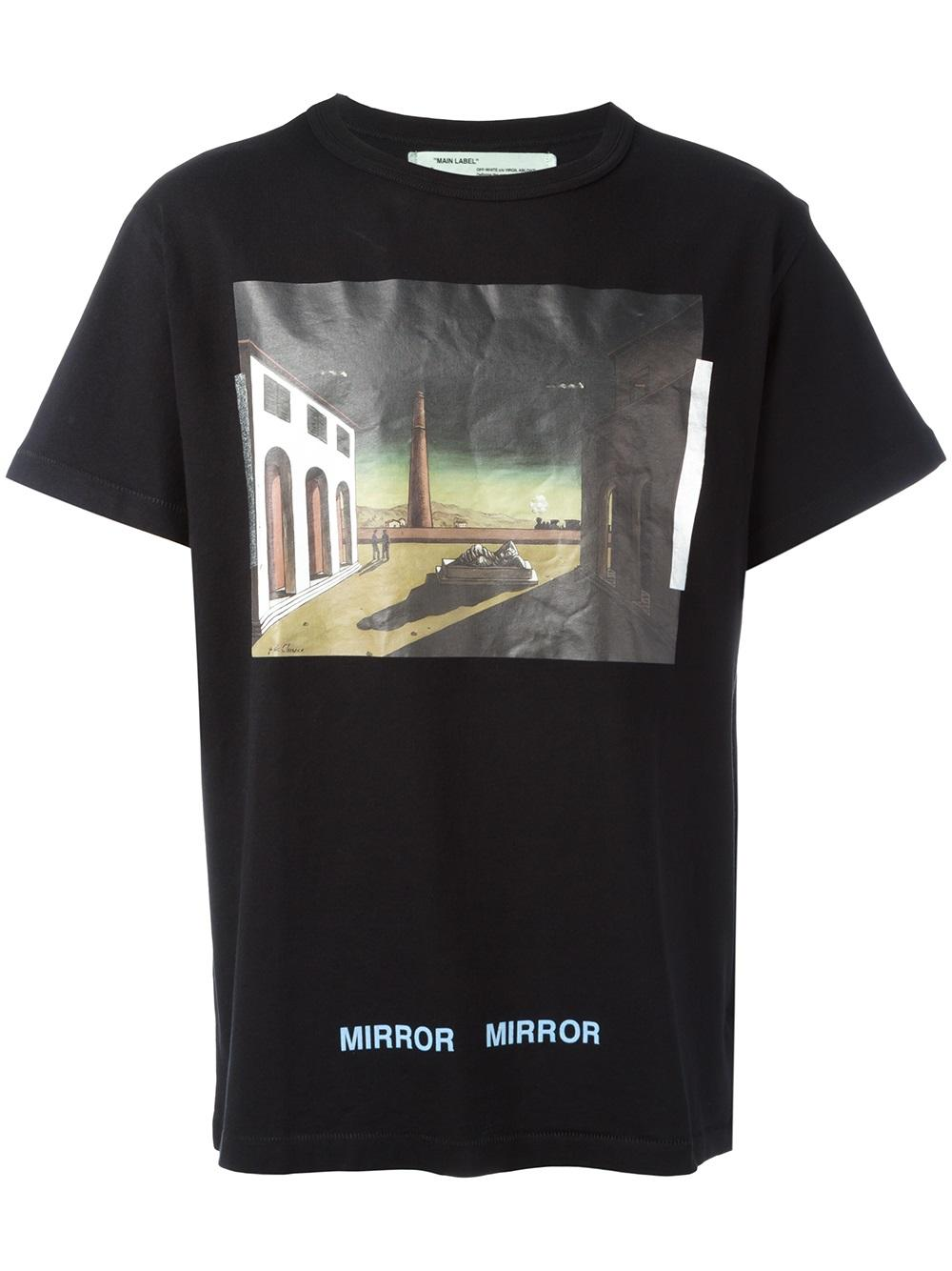 1e4e8eac Off-White 'De Chirico' T-shirt - Farfetch
