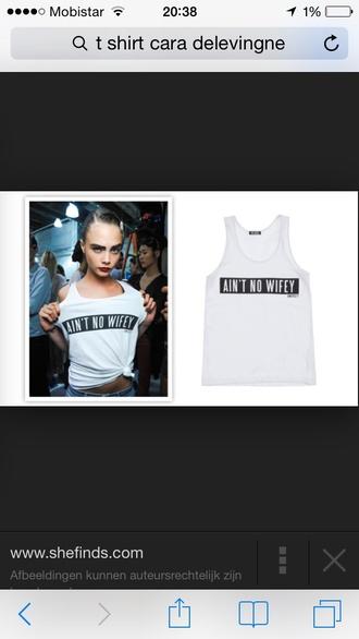 cara delevingne graphic tee tank top shirt