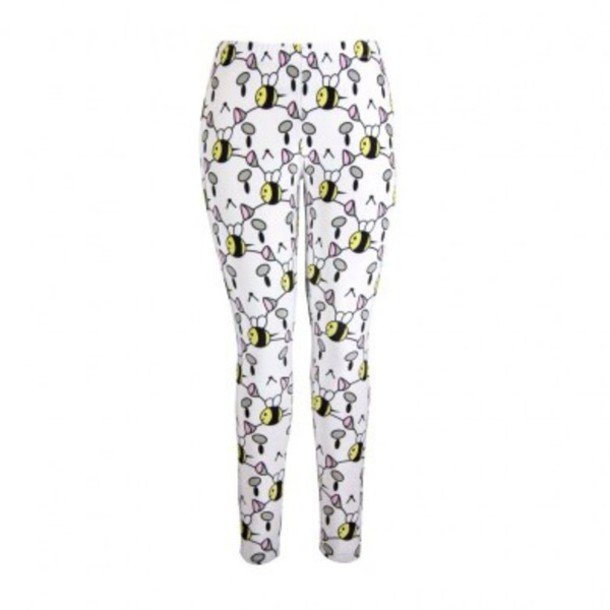 leggings bee and puppycat cute dress