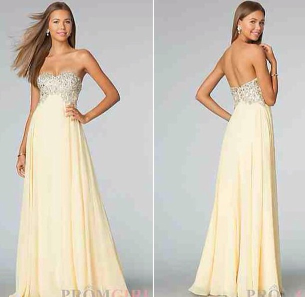 dress, yellow, dress, prom, gown, prom gown, prom dress, prom uk ...