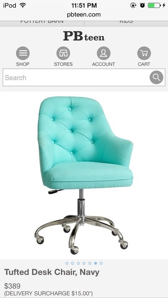 home accessory office chair teal chair