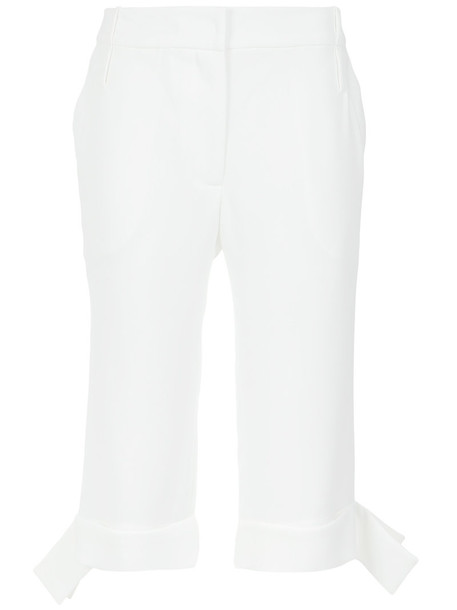 culottes women white pants