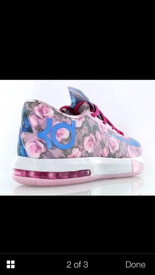 shoes kevindurant kds aunt pearls flowers kevin durant kds 6