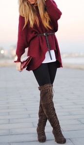 sweater,shoes,burgundy,cardigan,jumper,knitwear