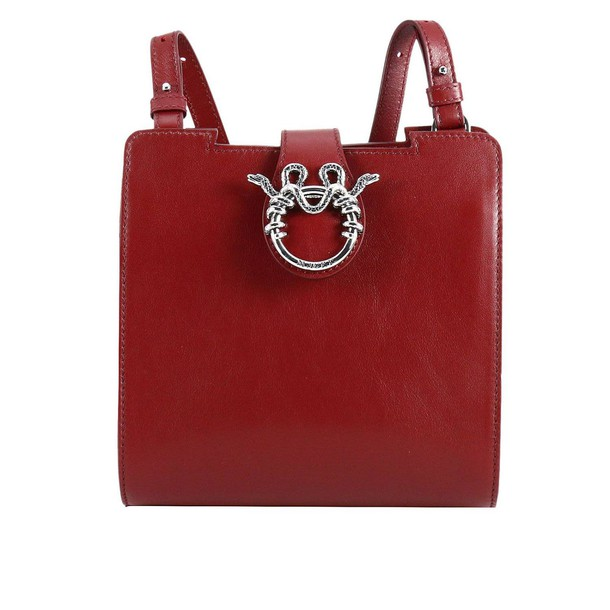 MAGRÌ maxi bag leather red