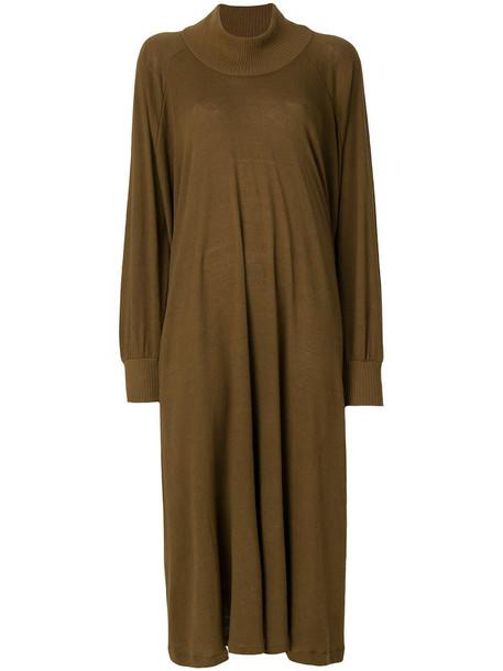 Minä Perhonen dress sweater dress loose women fit brown