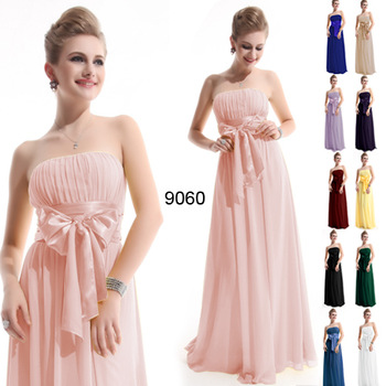 Aliexpress.com : Buy Special Discount  Gorgeous Strapless/ Halter Blue Long Evening Dress from Reliable long strapless evening dresses suppliers on Ever Pretty's store