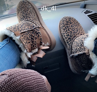 shoes leopard print uggs