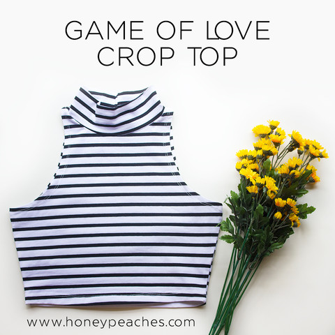Game of Love Crop Top – Honey Peaches