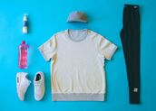 sweat the style,shoes,shorts,sweater,tights,hat,shirt