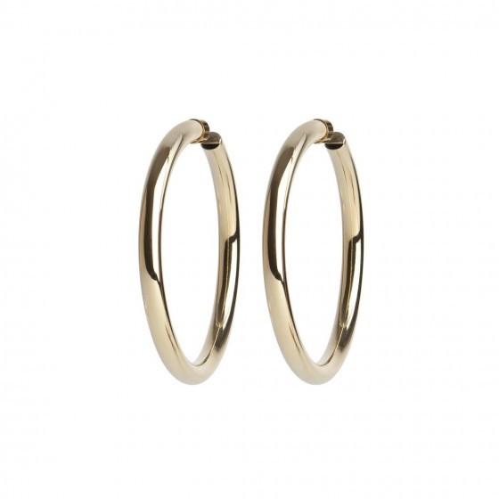 Selena Gomez Gold Hoop Earrings Pantene