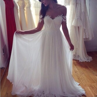 wedding dress lace wedding dress strapless dress white dress wedding