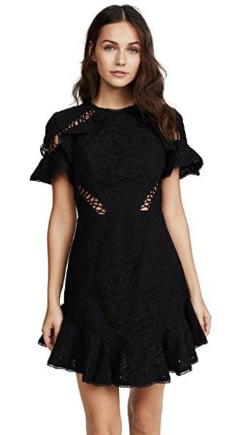 Zimmermann dress noir