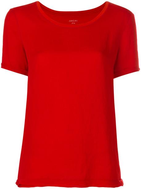 Marc Cain t-shirt shirt t-shirt women cotton red top