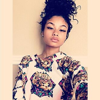 shirt india westbrooks curly hair black girls killin it