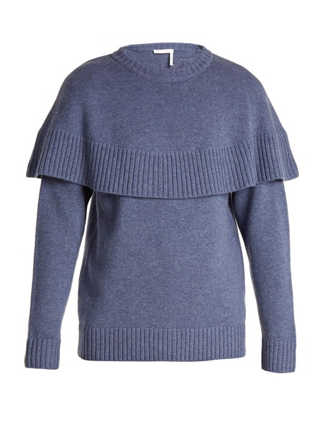 Chloe sweater blue