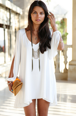 Luxe Wanderlust Summer Dress  White Dress  Beach Coverup
