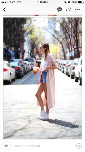 cardigan pink dress summer dress spring dress light pink