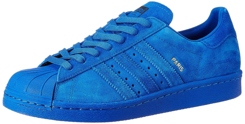 : adidas superstar degli anni '80 uomini città serie, parigi, blu e oro