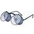 ROMWE | ROMWE Silver Wheel Hollow-out Double-layered Sunglasses, The Latest Street Fashion