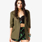 Closing act linen-blend jacket | forever21 - 2036917890