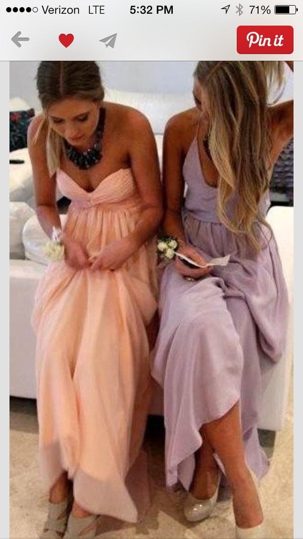 dress lavender bridesmaid dress