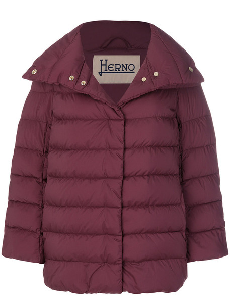 Herno jacket women red