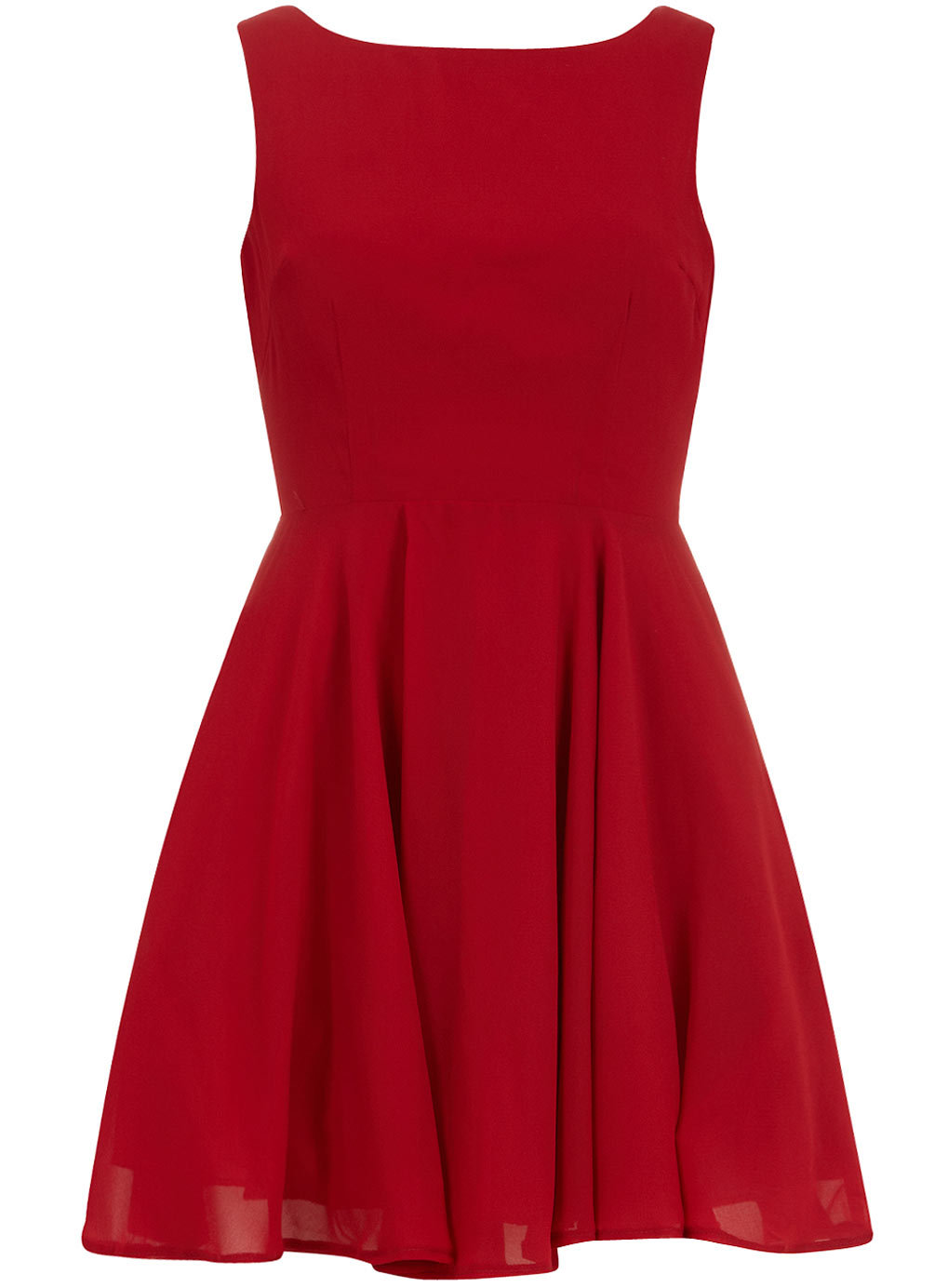 Plain Red Dress
