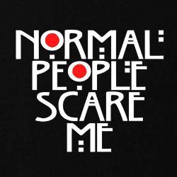 Normal People Scare Me Sweatshirts | Zip Up Hoodies & Crew Necks Sweatshirts