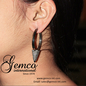 jewels,fashion earrings,gemco,gemco international,hoop earrings,earrings,diamond earrings,silver earrings,big earrings