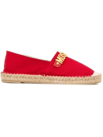 espadrilles red shoes