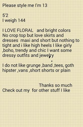 dress style trendy fashion style me boho dress maxi dress maci dress floral dress flowered shorts floral skirt