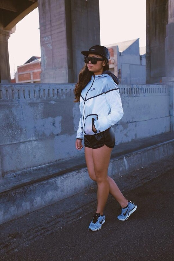 jacket nike windbreaker transparent cute style swag jordans shoes shades snapback make-up shorts tanline sweater hat asian bucket hat