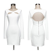 dress,modern,muse,white,bodycon,makeup table,vanity row,dress to kill,mini dress