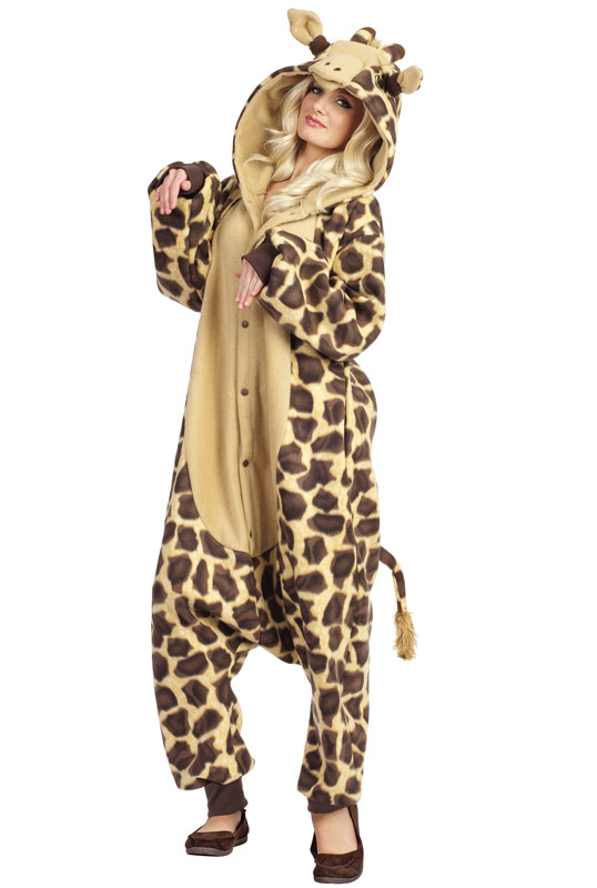 Georgie The Giraffe Adult Costume Pure Costumes