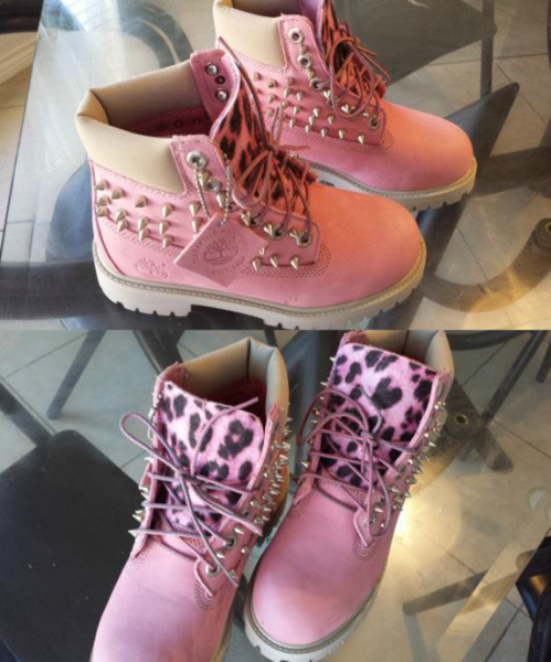 Pink Timberlands Suede – Honestly Shut The Fuck Up