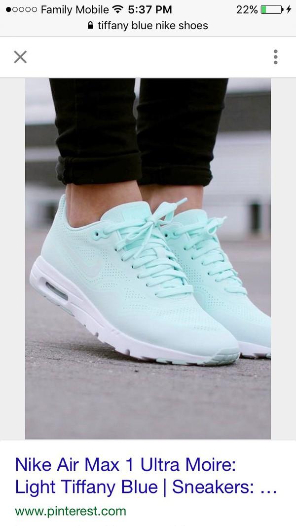 Nike Air Max 1 Ultra moire women Mint fiberglass white size 11