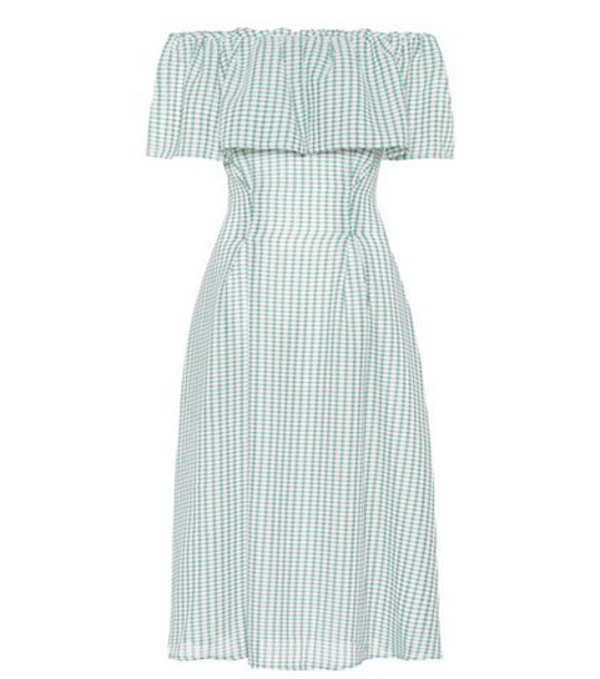 Rejina Pyo dress gingham green