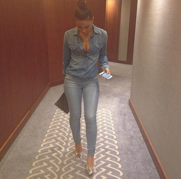 shirt jeans jacket