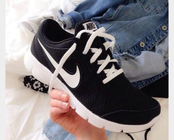shoes nike nike shoes trainers nike sport black