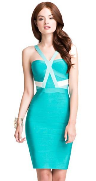 3626b5beefad dress dream it wear it dress clothes bandage bandage dress bandage dress  turquoise turquoise dress turquoise