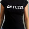 On fleek ladies top, t-shirt for women on fleek, 100% cotton ladies outfit